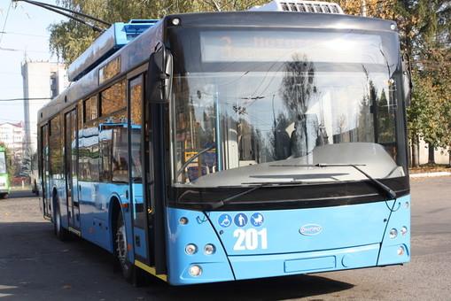 В Ровно до конца года получит два новых троллейбуса