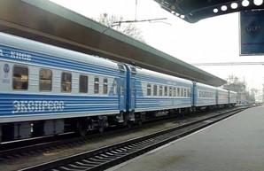 В Брянской области России загорелся локомотив поезда Москва – Киев