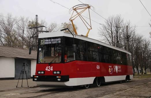 В Кривом Роге капитально восстановили еще один трамвай