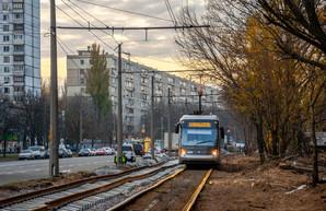 В 2020 году в Киеве завершат первую очередь реконструкции скоростного трамвая на Михайловскую Борщаговку