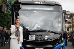 Столица Мексики начала получать новые троллейбусы