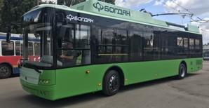 Харьков уже получил 24 новых троллейбуса «Богдан» Т701.17