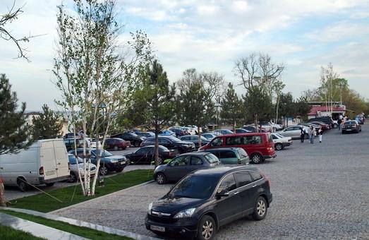 Все парковки в центре Одессы будут коммунальными