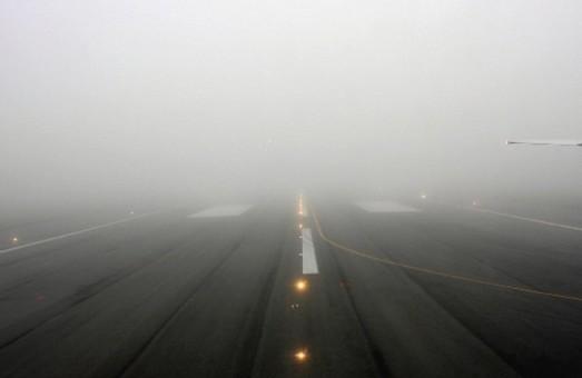 Утренний туман в Одессе снова вмешался в работу аэропорта