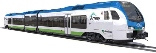 Первый в США поезд на водородном топливе построит компания «Stadler»