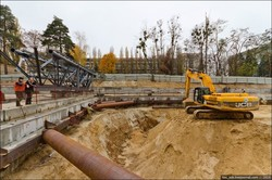 В Киеве показали, как строят метро на Виноградарь
