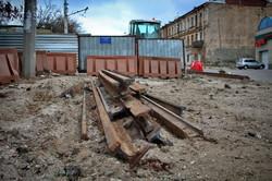 В Одессе завершают реконструкцию улицы Софиевской, а спуск Маринеско закончат в марте (ФОТО)