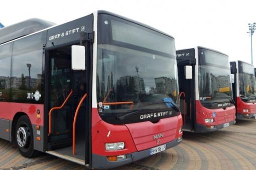На три автобусных маршрута в Одессе выедут автобусы большого класса