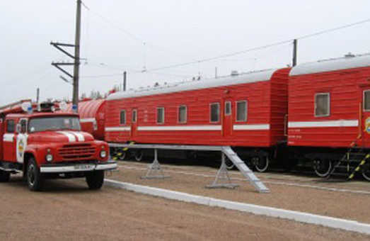 Одесские железнодорожники в 2019 году капитально отремонтировали пять вагонов пожарных поездов