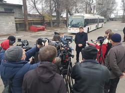 В Запорожье снова на линии начали работать троллейбусы-«гармошки»