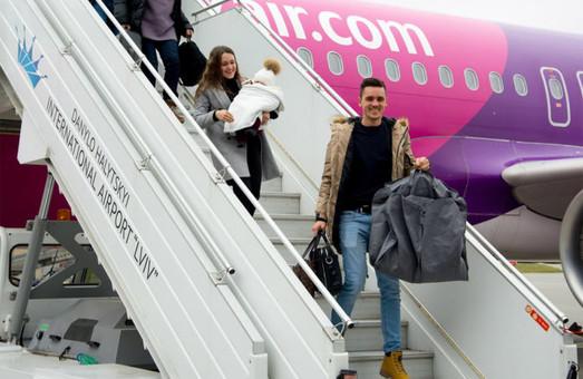 Аэропорт Львова в 2019 году уже обслужил двухмиллионного пассажира
