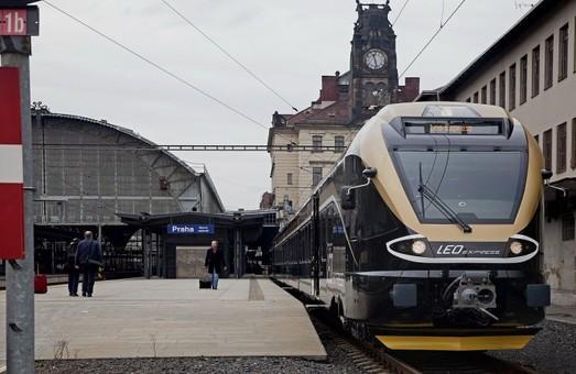Поезд чешского оператора «Leo Express» начнет курсировать из Праги до границы с Украиной уже в марте следующего года