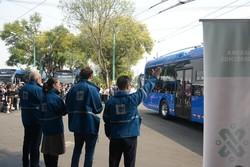 Столица Мексики получила 40 китайских троллейбусов «Yutong»