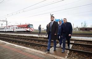 Евгений Кравцов озвучил идею постройки евроколеи до Львова