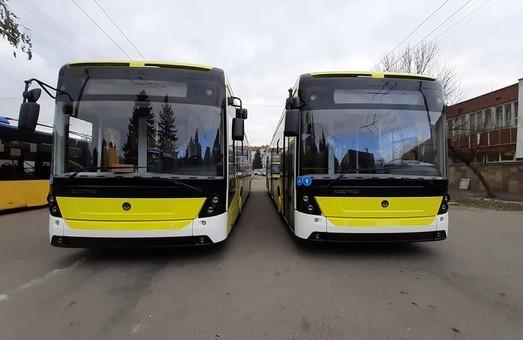Новые троллейбусы «Электрон» выйдут на маршруты Львова в середине декабря