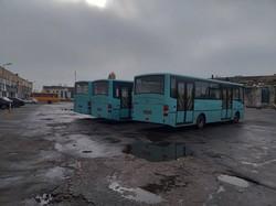 Херсон получает новые автобусы Черниговского автозавода