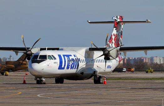 Авиакомпания «Роза ветров» будет летать в Одессу на самолетах ATR-72-600