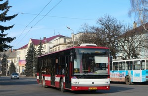 Ивано-Франковск покупает еще 10 автобусов большого класса