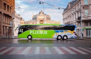 Первый в Украине брендированный автобус «FlixBus» отправился в первый рейс из Одессы в Пльзень