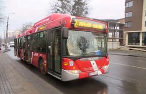 В Хмельницком на маршруты выехали автобусы большого класса