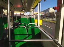 На троллейбусных маршрутах Львова начали работать 10 новых троллейбусов «Электрон»