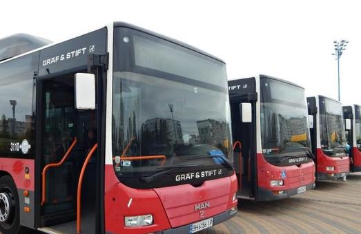 Из полусотни автобусов большого класса, которые закупил «Севертранс», в Одессе будет работать только два десятка