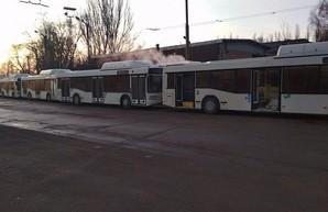 В Кривой Рог пополнил парк коммунальных автобусов большого класса