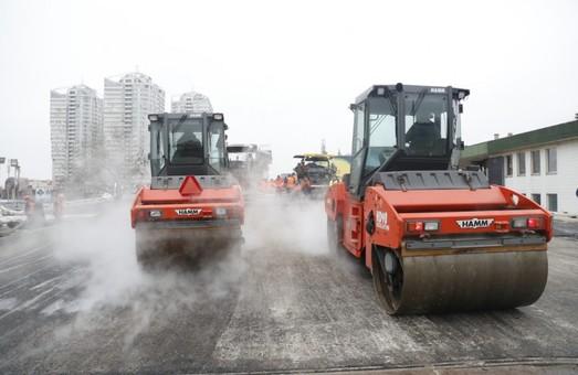 В Киеве завершают реконструкцию Шулявского путепровода