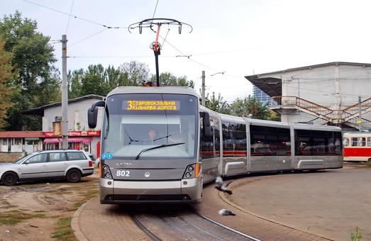 Киев может получить трамваи «Электрон» в следующем году