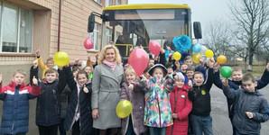 Парк школьного транспорта Ровенской области в этом году пополнился 17 новыми автобусами