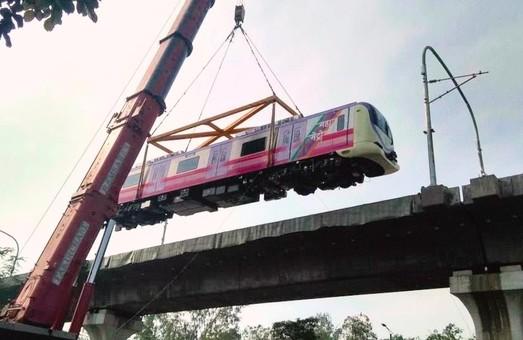 Метрополитен города Пуна начал получать подвижной состав