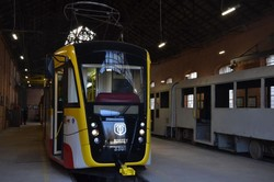 """В Одессе построили очередной трамвай """"Одиссей"""""""