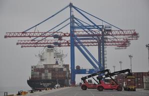 Морские порты Украины установили рекорд по перевалке контейнеров