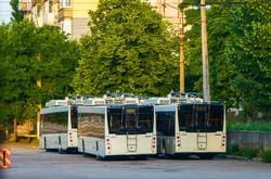 Как в прошлом году обновлялись троллейбусные парки Украины