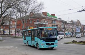 Новые автобусы «Эталон» А081.28 с конца декабря работают на маршрутах Херсона