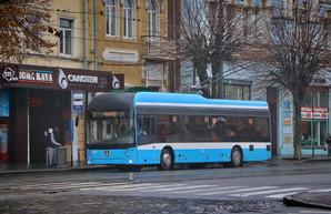 Четвертый троллейбус, собранный Винницкой транспортной компанией, вышел на маршруты города