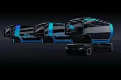 Шведская компания «Scania» разработала гибрид автобуса и мусоровоза с электрическим приводом