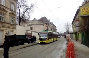 Во Львове тестировали трамвайную линию на улице Замарстыновской