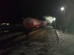 В Сумской области загорелся пассажирский дизель-поезд