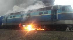 На Юго-Западной железной дороге горел локомотив пассажирского поезда