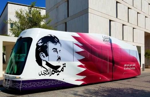 В столице Катара запустили трамвай