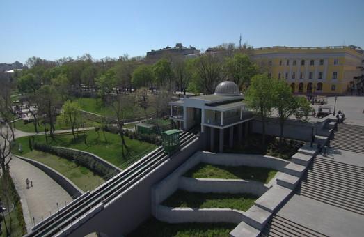 Одесский фуникулер на два месяца закрывают на ремонт