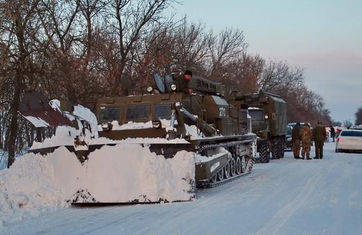 В Одесской области установили GPS-навигацию на дорожную технику