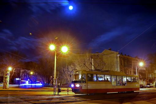Одесский электротранспорт будет работать в ночь на Крещение
