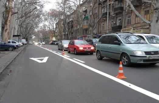 Одесские транспортники считают «выделенку» на Ришельевской успешным проектом