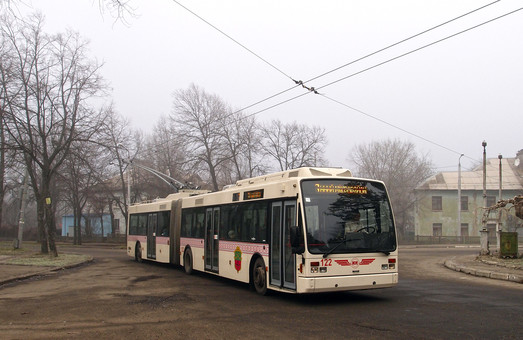 «Запорожэлектротранс» закупает еще три европейских троллейбуса-«гармошки»