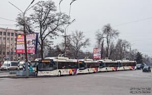 В феврале Кривой Рог получит шесть новых троллейбусов