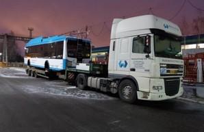 Первые троллейбусы БКМ 321 уже отправлены в Мариуполь