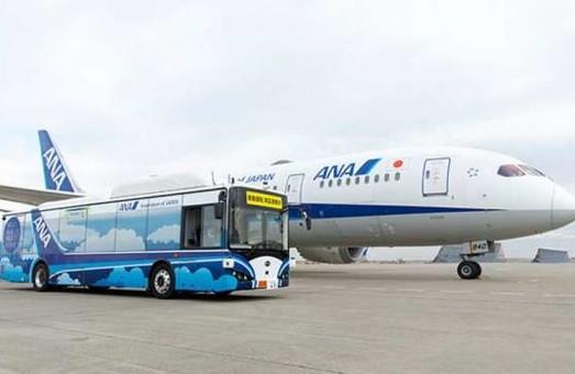 Японская авиакомпания презентовала собственный электробус