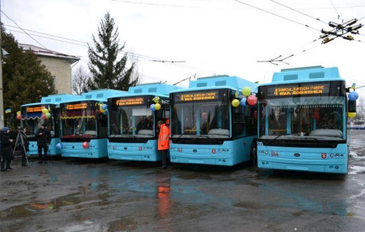 В Хмельницком на маршрут запустили троллейбусы с автономным ходом